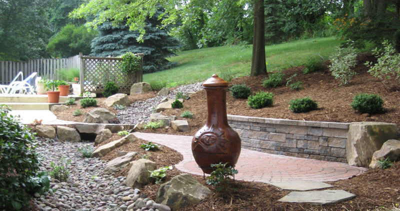 Patio design, Hardscape ideas