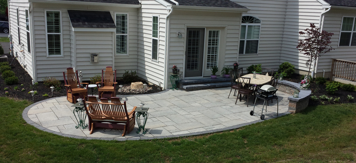 Superieur Because Of This, A Properly Installed Patio Has A Much Longer Lifespan Than  A Deck, Averaging 25+ Years Of Virtually Maintenance Free Life.